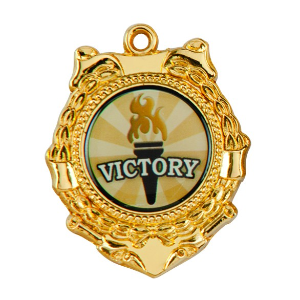 50mm Victorious Medal Gold