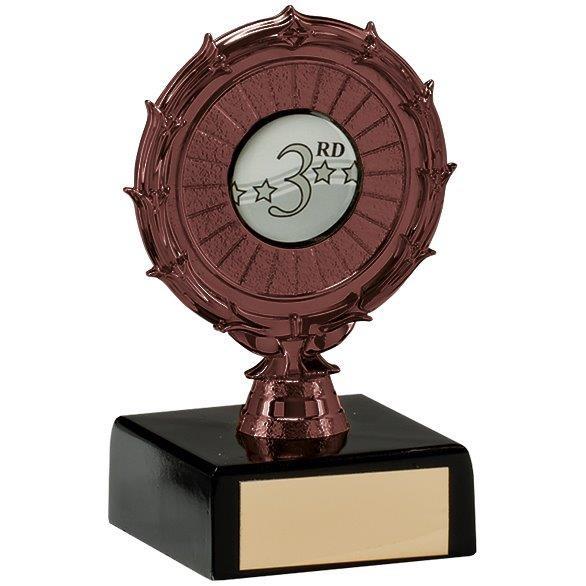 Spiral Multi-Sport Trophy Bronze