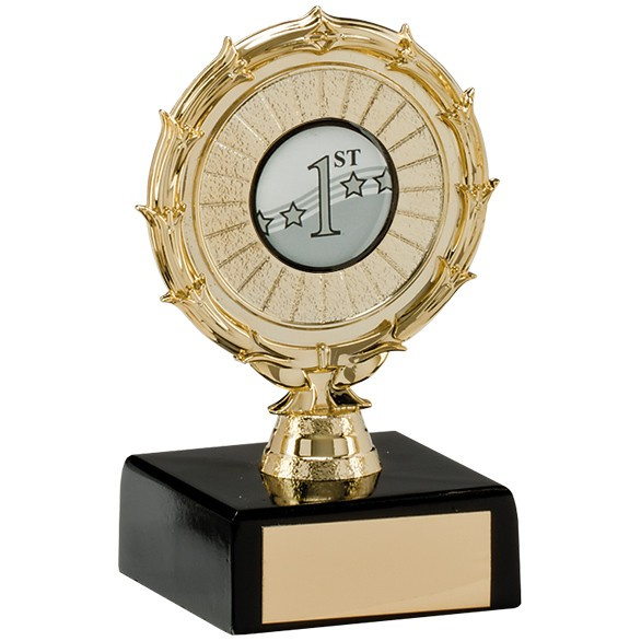 Spiral Multi-Sport Trophy Gold