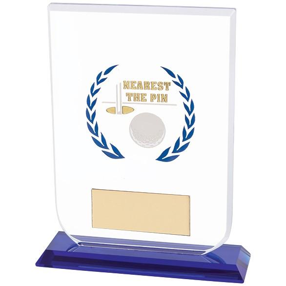 Gladiator Golf Nearest Pin Award Glass