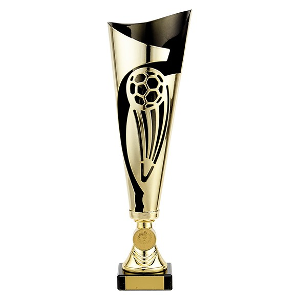 Champions Gold & Black Football Cup