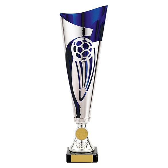 Champions Silver & Blue Football Cup
