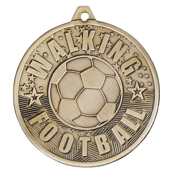 Cascade Walking Football 50mm Medal