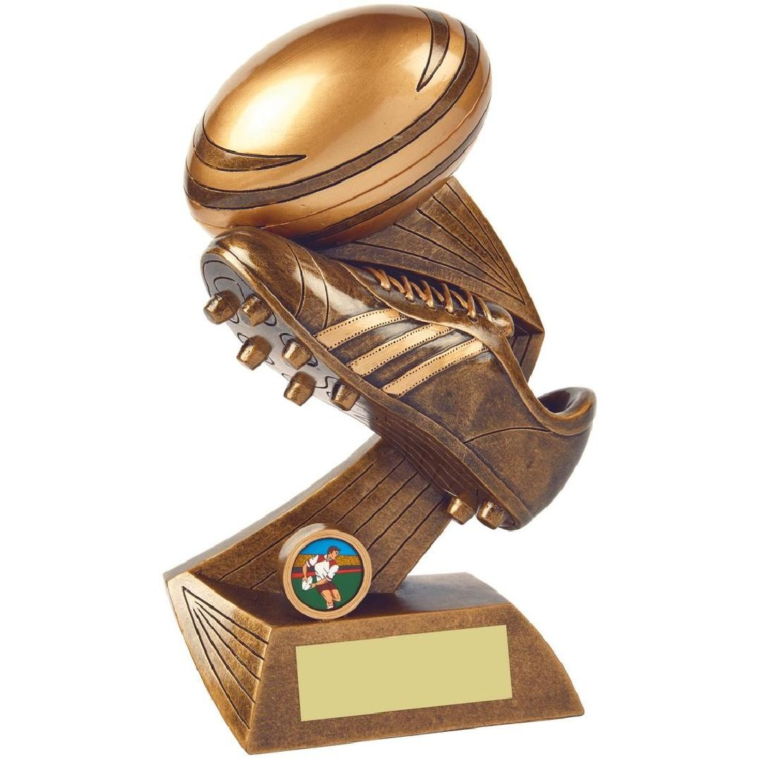 Heavy Resin Rugby Award