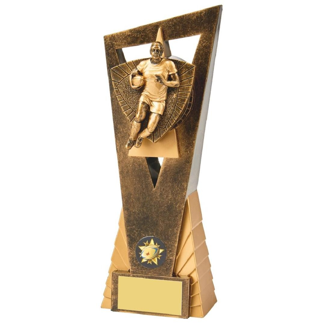 Male Rugby Resin Award