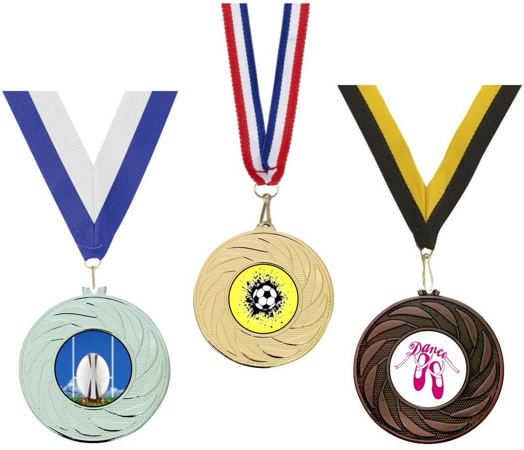 50mm Medal & Ribbon