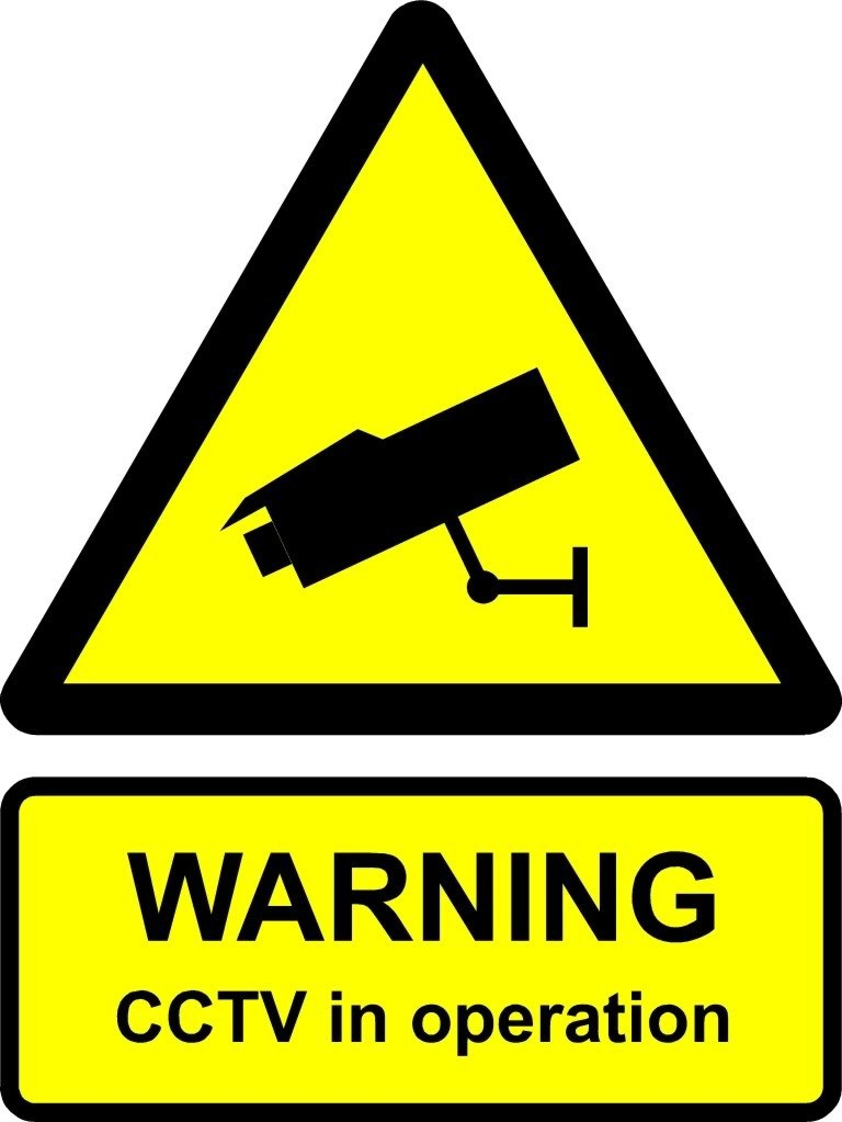 CCTV (Example Sign)