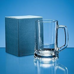 1pt Glass Tankard & Blue Box