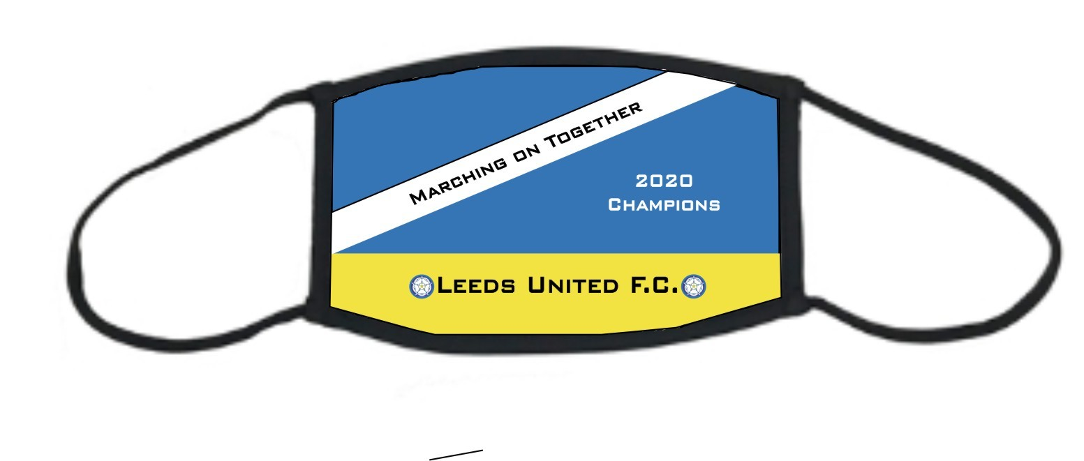 Leeds United Face Mask