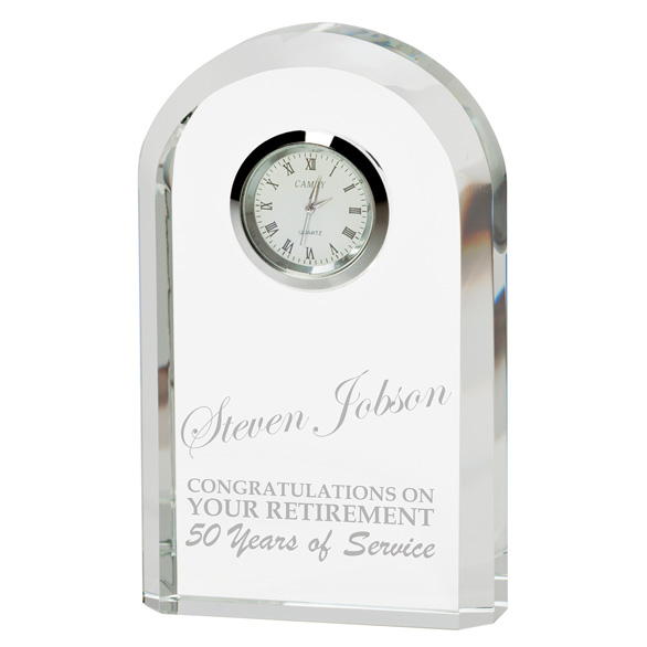 Eternity Crystal Clock