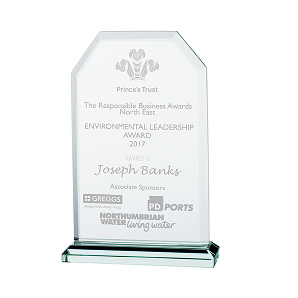 Jade Executive Crystal Award