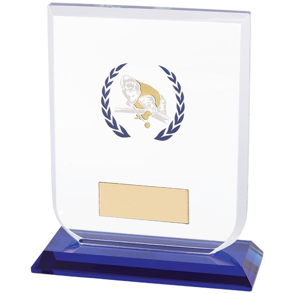 Gladiator Pool Snooker Glass Award