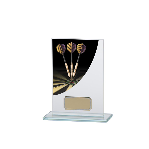 Colour Curve Darts Jade Glass Award
