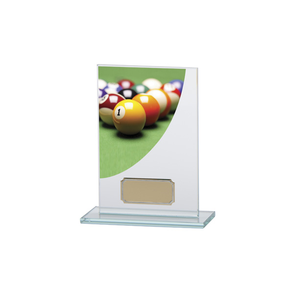 Colour Curve Pool Jade Glass Award