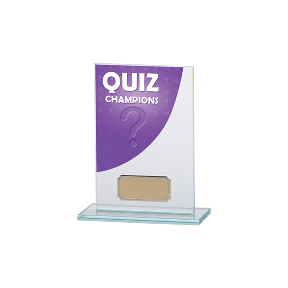 Colour Curve Quiz Jade Glass Award
