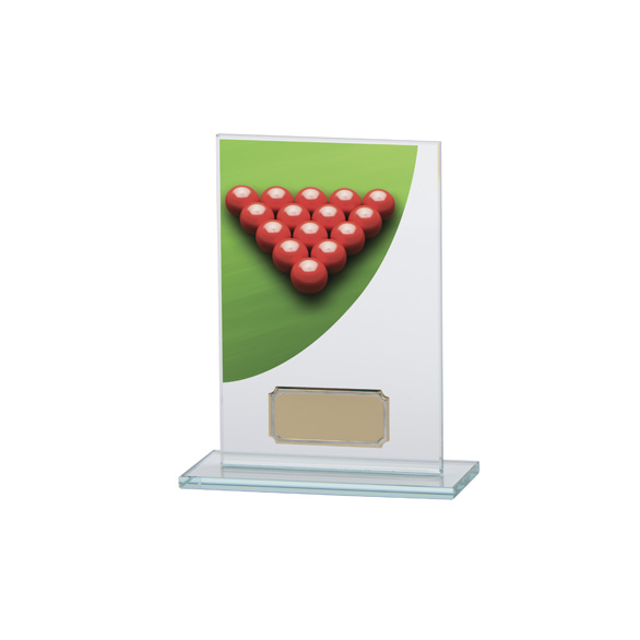Colour Curve Snooker Jade Glass Award
