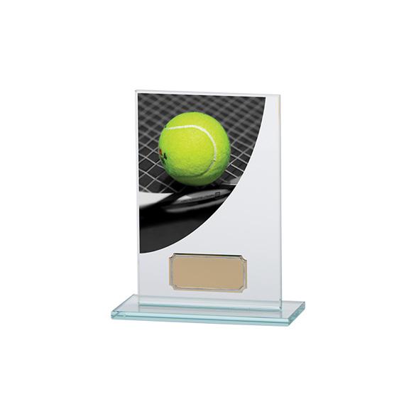 Colour Curve Tennis Jade Glass Award