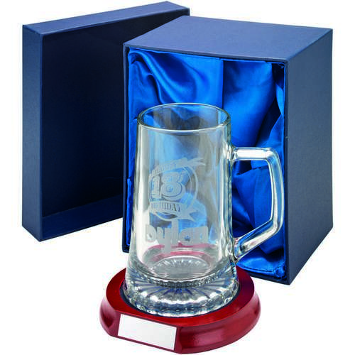 Crystal Tankard 1/2 Pint