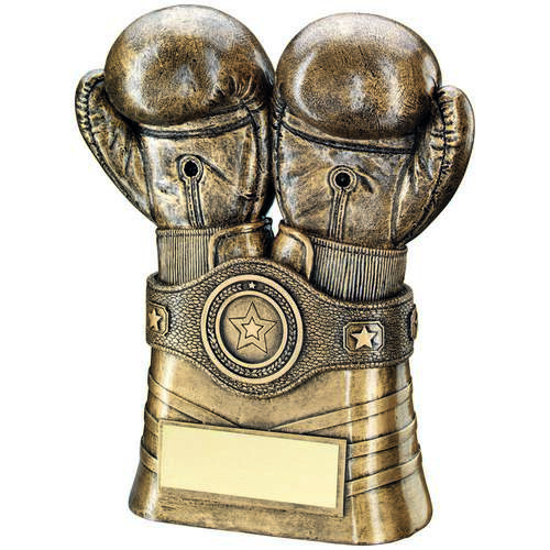 Boxing Gloves And Belt Trophy