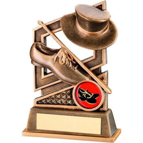 Brz/Gold Tap Dance Diamond Series Trophy ( Centre)