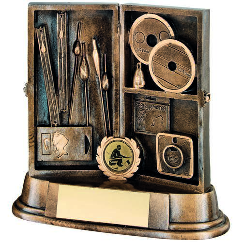 Angling Tackle Box Trophy