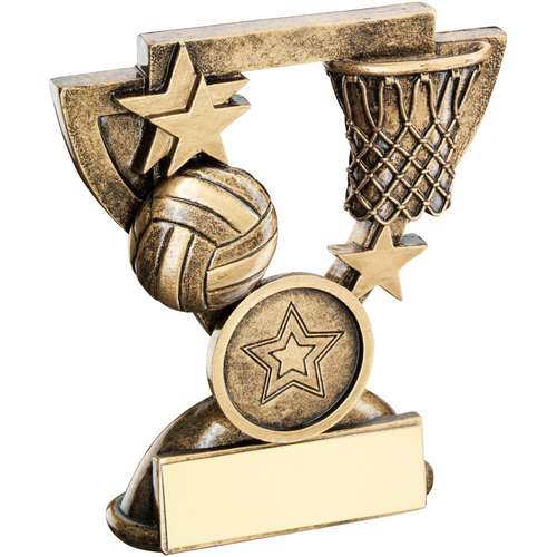 Netball Mini Cup Trophy