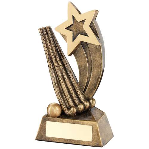 Hockey Sticks/Ball With Shooting Star Trophy
