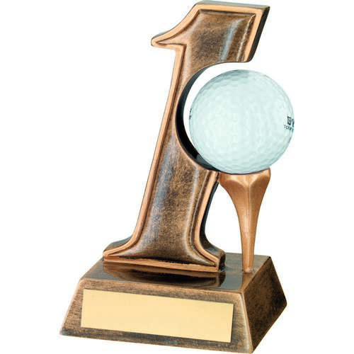 'Hole In One' Golf Trophy
