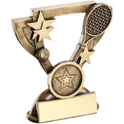 Tennis Mini Cup Trophy
