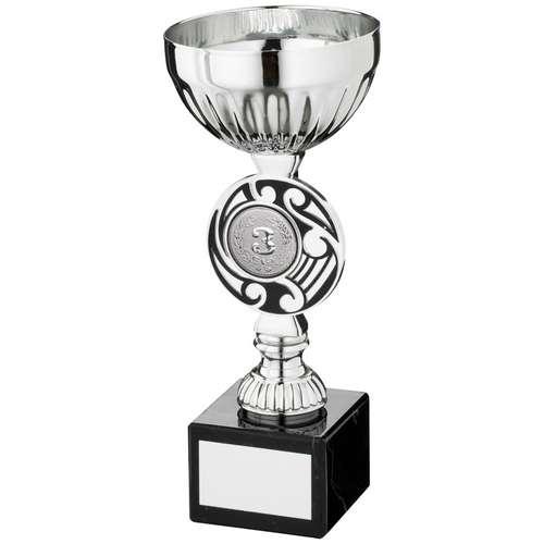 Silv/Black Round Celtic Trophy ( Centre)