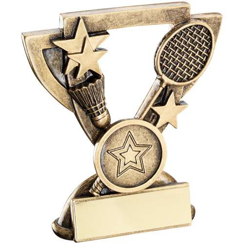 Badminton Mini Cup Trophy