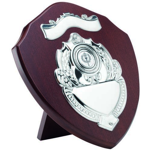 Mahogany Shield With Chrome Front