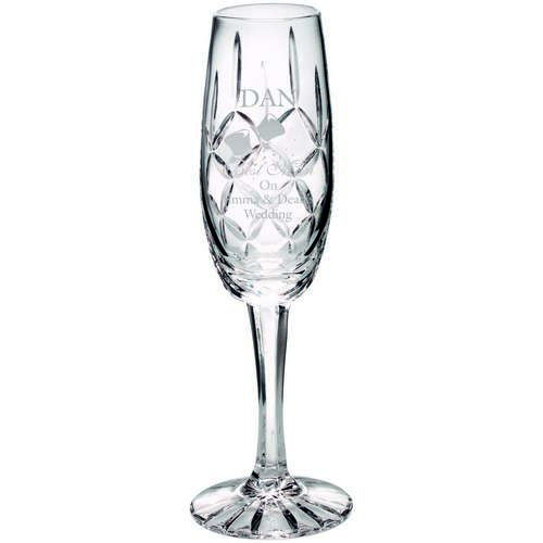 140Ml Classic Champagne Flute Blank Panel