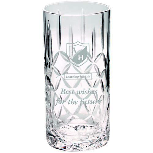 405Ml Highball Glass Tumbler Blank Panel