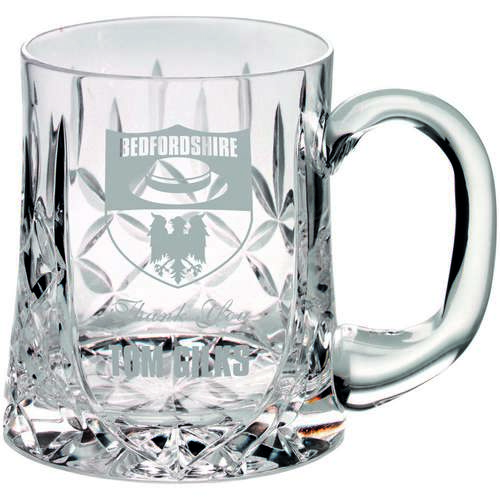 Glass Tankard Blank Panel