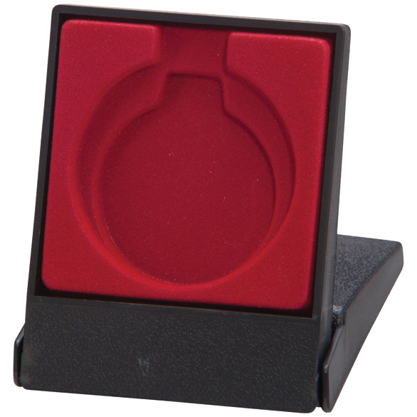 Garrison Medal Box Red Takes 40/50mm Medal