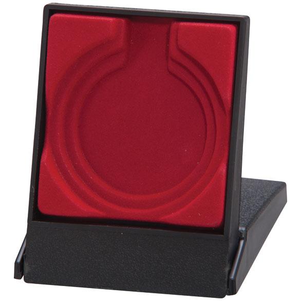 Garrison Medal Box Red Takes 50/60/70mm Medal