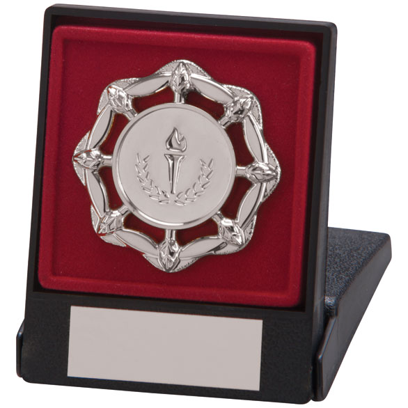 Elation Trim Award Case Silver