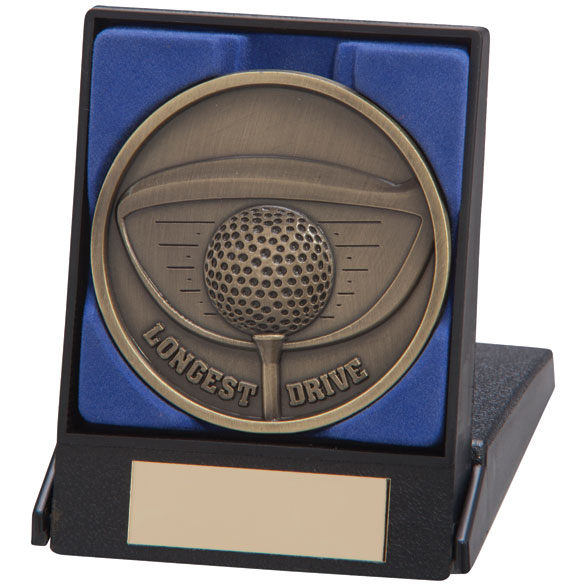 Links Series Longest Drive Medal & Box