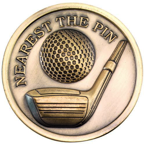 70mm Golf Medallion Nearest The Pin