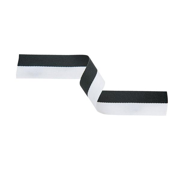 Medal Ribbon Black & White