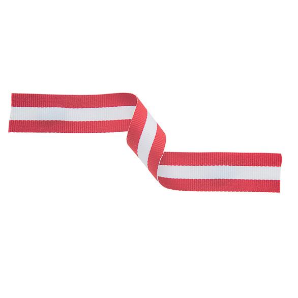 Medal Ribbon Red White & Red
