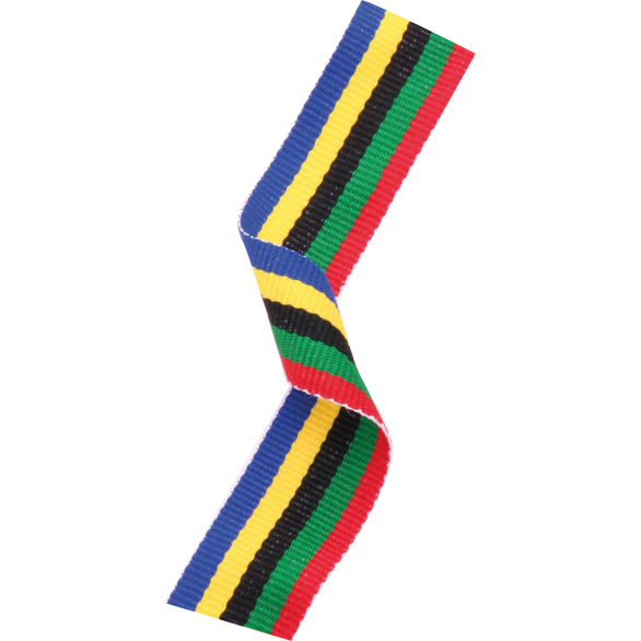 Medal Ribbon Olympic Colours