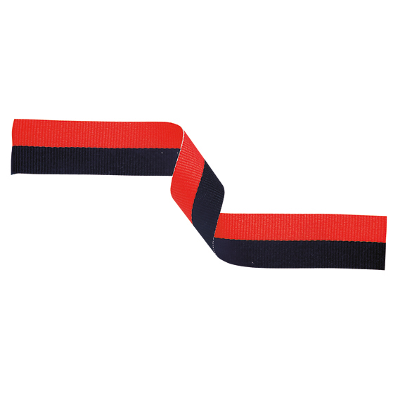 Medal Ribbon Black & Red