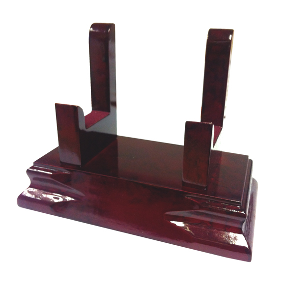 Luxor Premium Wood Salver Stands