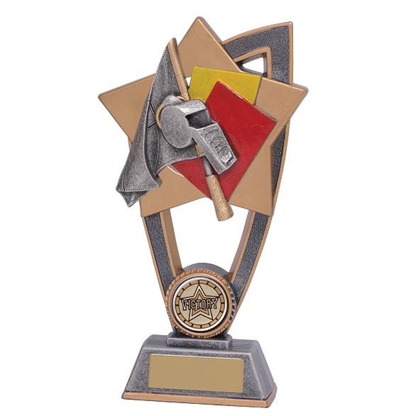 Star Blast Referee Whistle Award
