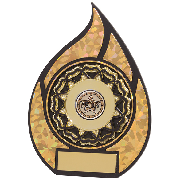 Inferno Multisport Plaque Black & Gold