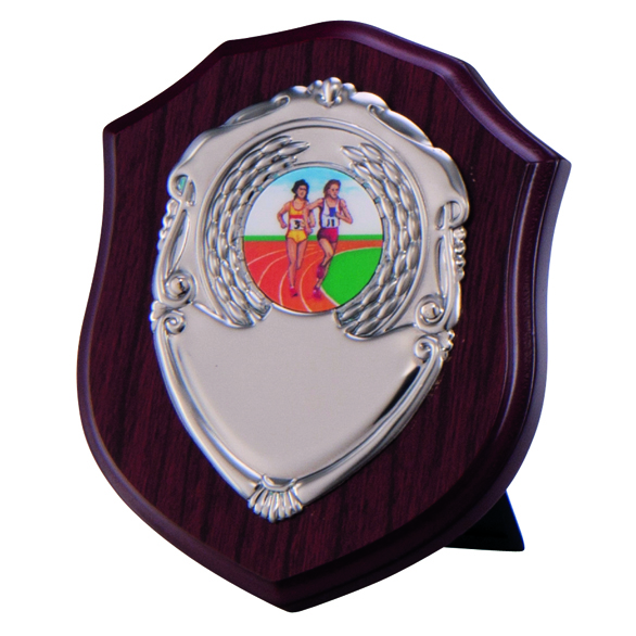 Vanquish Mahogany Shield