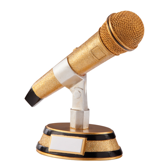 Karaoke King Music Microphone Award