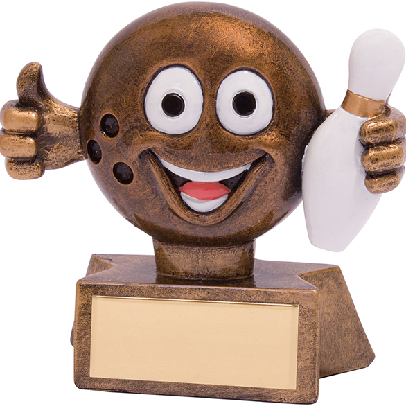 Smiler Ten Pin Award